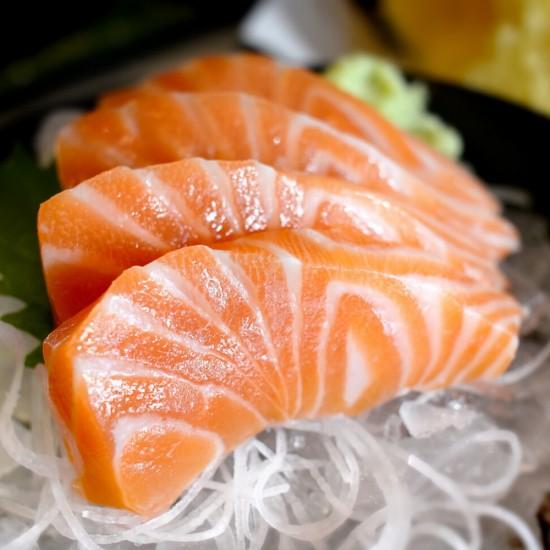 Salmon Sashimi 4 pcs. (DR4)